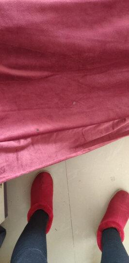 意尔德家纺 法兰绒四件套 珊瑚绒1.5米件套 婚庆1.8m床上用品套件法兰绒 加厚水晶绒短毛绒四件套 挚爱-粉 1.8米床-200x230cm被子适用 晒单图