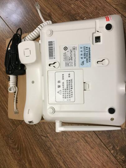 中诺C265  无线  移动 电信座机  插卡电话机  sim卡 无线电话 无线 固话 插电信卡(白色) 晒单图