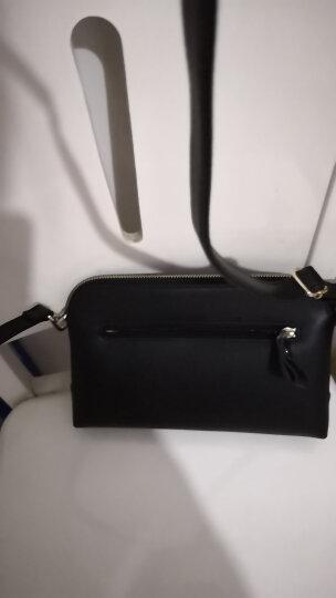 稻草人(MEXICAN)潮流欧美时尚个性链条单肩包斜挎包女士方形包包多功能小包手提包 黑色 晒单图