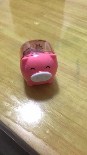 得力(deli)36只时尚靓彩包胶卷笔刀 学生铅笔削笔器/转笔刀 0520 晒单图