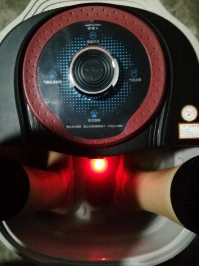 南极人(NANJIREN) 【明星推荐】全自动足浴盆电动深桶加热洗脚盆 自助按摩泡脚桶 十组合式旋钮版黑色 晒单图