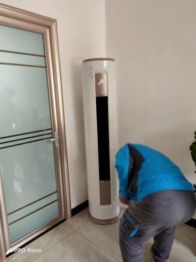 美的(Midea)立式空调 2匹/3匹 定速冷暖静音 智能清洁 圆柱空调柜机(陶瓷白)智行系列 KFR-72LW/DY-YA400(D3) 晒单图