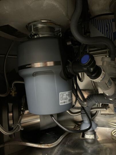 爱适易(ISE)垃圾处理器家用 厨房厨余粉碎机 食物湿垃圾处理机 可接洗碗机 美国原装进口 E100 晒单图
