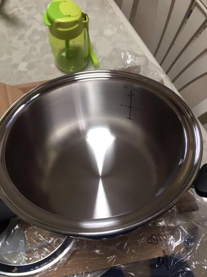特百惠(Tupperware) 特百惠锅 2L至尊精钢精灵多用锅 不锈钢汤锅/炖锅/奶锅 2L精灵锅 晒单图