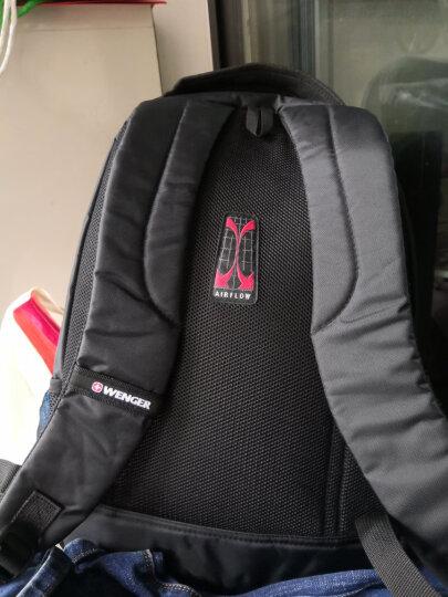 瑞士军刀威戈(Wenger)14.4英寸商务通勤笔记本电脑包大容量双肩书包背包男黑色SGB10516109044团购款 晒单图
