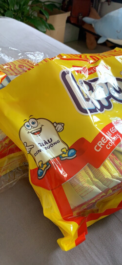 越南进口 Lipo原味面包干300g*2 零食大礼包 节日礼品 儿童大礼包 晒单图