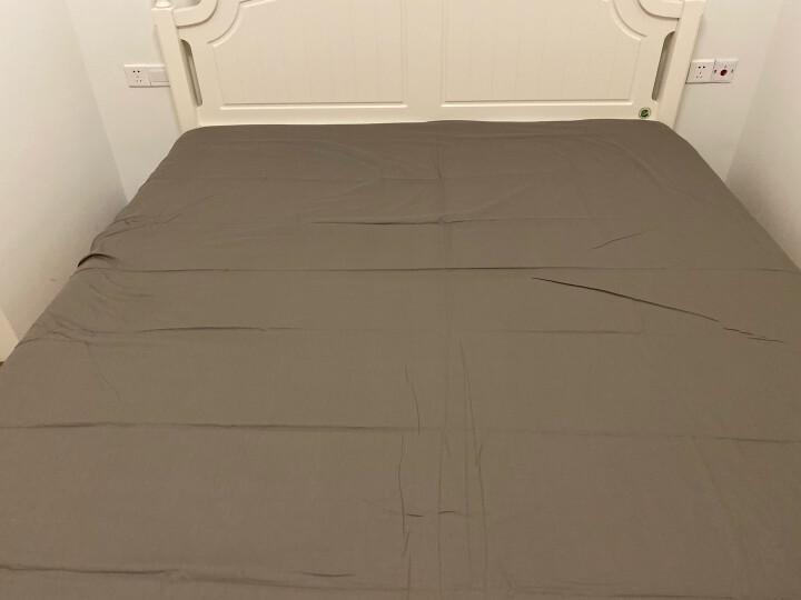 百富帝(byford)四件套纯棉家纺 床上用品床单枕套双人全棉斜纹套件1.5/1.8米床被套200*230 夜华 晒单图
