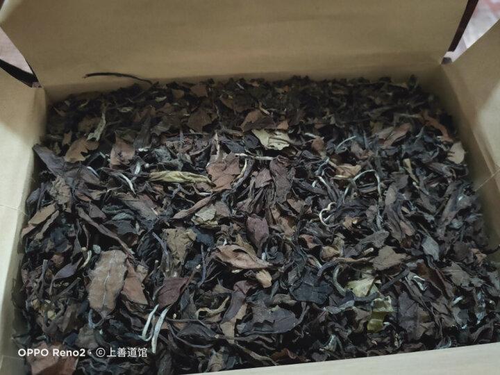 茶中仙 老白茶 贡眉寿眉白牡丹散装老白茶茶叶300g野生实木礼盒装 晒单图