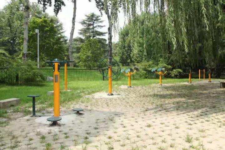 强盟户外小区公园健身器材 室外路径健身器械腿部按摩器 腿部按摩器 QMTJ-38 晒单图