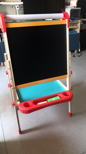 特宝儿(topbright)二合一桌式儿童画板多功能黑板 双面写字板白板男孩女孩儿童玩具学习桌早教生日礼物 晒单图