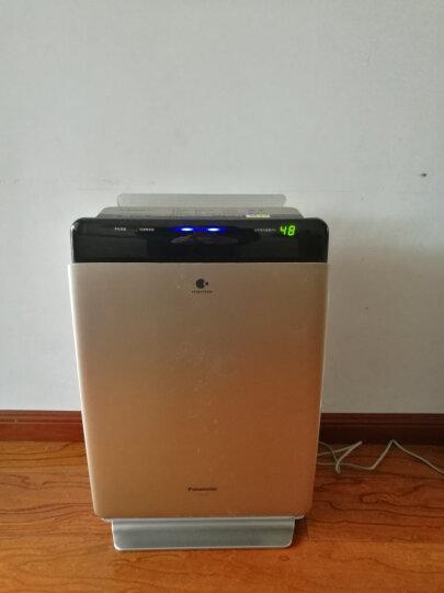 松下(Panasonic)家用空气净化器除细菌 加湿 除过敏原 除雾霾PM2.5二手烟异味 湿度数显 节能 F-VXG70C-N 晒单图