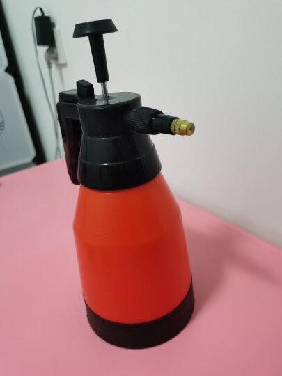 悦卡 家用浇花喷壶 车用气压式洗车喷雾器 浇水壶园艺工具(1L款)红色 汽车用品 晒单图