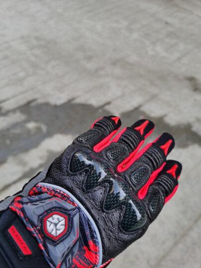 赛羽SCOYCO摩托车手套夏季透气骑行机车手套骑士防摔手套羊皮赛车摩旅骑行装备 MX49(红色)360度透气 M 晒单图