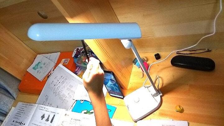好视力led台灯学习学生儿童阅读写作业减蓝光写字灯卧室床头灯 大学生宿舍寝室书桌工作灯可调光 晒单图