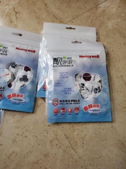 霍尼韦尔(Honeywell) 口罩 KN95 靓呼吸 防尘 耳带式带阀凡尔赛玫瑰 男女骑行 D7051V-RS1 (5只装) 晒单图