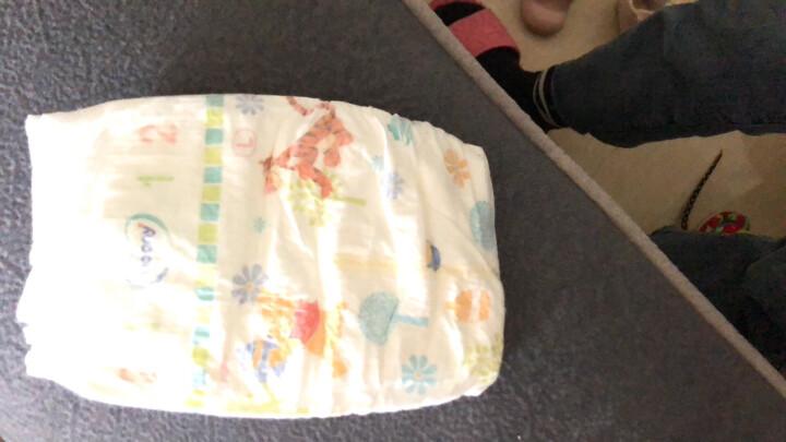 尤妮佳 moony 拉拉裤(男)L56片(9-14kg)大号婴儿拉拉裤(官方进口)畅透增量 晒单图