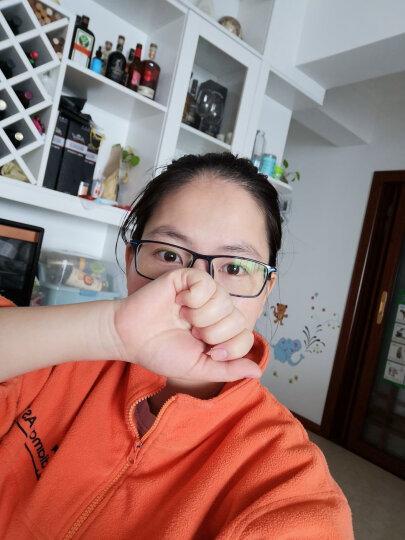 目匠 防辐射眼镜框男女 近视眼镜男女款防蓝光护目镜全框超轻时尚TR眼镜架 170 蓝色+送1.56防蓝光镜片(平光或400度内) 晒单图