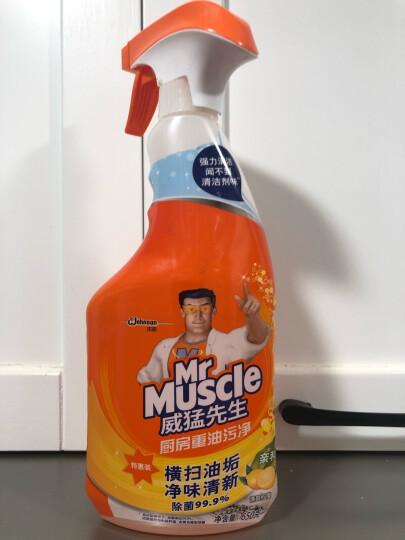 威猛先生 油污清洁剂 厨房重油污净 (500g+150g)*2瓶 柠檬香 强力去油污厨房清洁剂 抽油烟机清洁剂 油烟净 晒单图