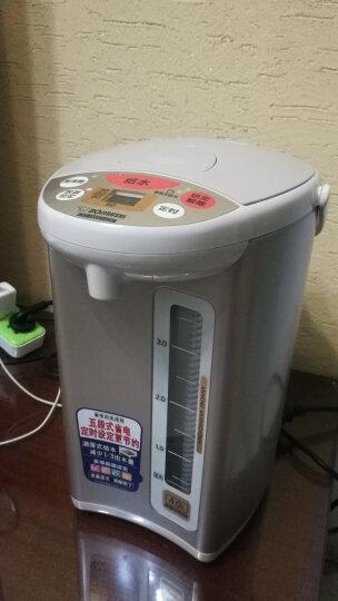 象印(ZO JIRUSHI)电热水壶微电脑升级款五段式恒温电水壶瓶家用办公定时烧水壶 CD-WCH40C-TD棕-4L 晒单图