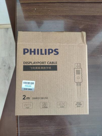 飞利浦(PHILIPS)HDMI转VGA线转换器 高清视频转接头适配器 电脑机顶盒连接投影机电视显示器线 SWR1620E 晒单图