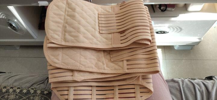 爱宝适产后收腹带产妇专用双层纱布裹腹带束腹带 纱布2卷+收腹内裤 L 晒单图