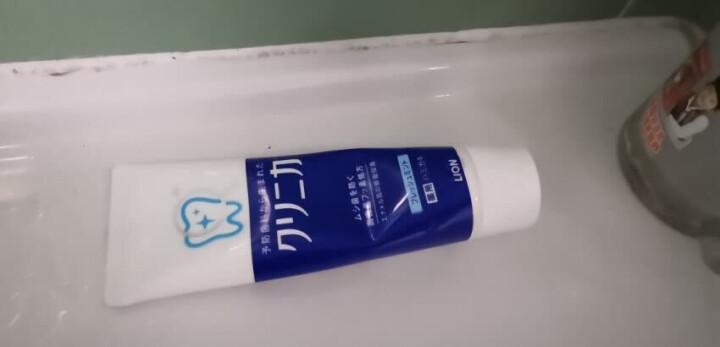 狮王(Lion)齿力佳健齿牙膏(清新薄荷)防蛀去牙垢130g*3(日本原装进口) 晒单图