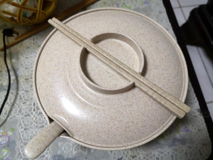 爱思得(Arsto)稻壳泡面碗带盖大号多功能餐具套装带筷勺微波炉可用5197麦色 晒单图