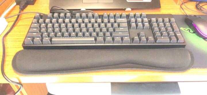 灵蛇(LINGSHE)鼠标垫 900*400*4 超大加厚办公游戏鼠标垫 精密锁边 可水洗P13蓝色 礼盒装 晒单图