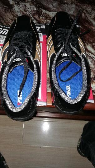 包邮 PGM正品 高尔夫球鞋 男士款运动鞋子 超轻固定钉防水休闲鞋 黑金色 42码 晒单图