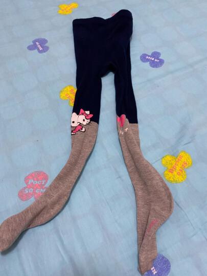 凯蒂猫HelloKitty儿童连裤袜女童秋冬保暖打底裤袜宝宝舞蹈袜袜子 KT8049粉色 110码/适合身高105-115cm 晒单图