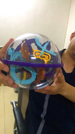 洛克王国螺丝钉玩具魔幻迷宫球299关翼系 智力球138关水系儿童成长益智玩具 火星迷宫初级-高阶158关 晒单图