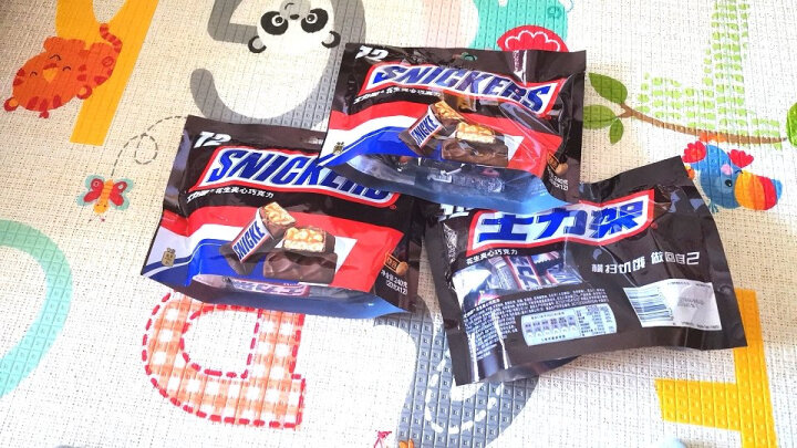 士力架花生夹心巧克力(分享装)新年春节糖果巧克力办公室零食员工福利 140g 晒单图