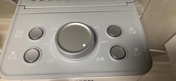 北鼎(Buydeem)即热式饮水机 即时加热小型迷你茶吧机饮水器 办公室家用桌上茶水机 智能8段控温 S601 钢琴白 晒单图