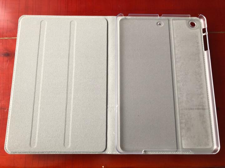 优加 苹果iPad mini2/3/1保护套 迷你2平板电脑保护壳 7.9英寸全包防摔皮套 畅系列 丛林绿 晒单图