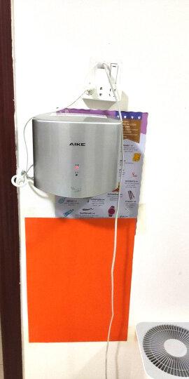 艾克(AIKE)全自动感应高速干手器免接触喷气式干手器家用卫生间自动感应烘手器AK2630S AK2630银色 晒单图