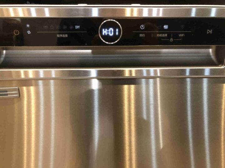 意大利daogrs X6s 洗碗机嵌入式家用智能全自动热风烘干除菌大容量消毒刷碗机13套 晒单图