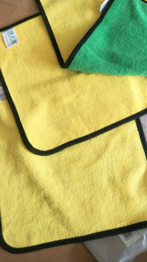 绿之源 汽车美容保养磨泥毛巾 粘土布魔泥布洗车去污去铁锈飞漆黄点虫斑黑科技 擦车手套用品 晒单图