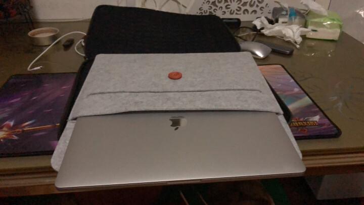 摩奇思 【MOKIS】 手提电脑包阳离子面料 14英寸男女士商务电脑内胆包- MKDNB011-b 棕色 晒单图
