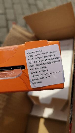 西部数据(WD)1TB USB3.0移动硬盘Elements 新元素系列2.5英寸(稳定耐用 海量存储)WDBUZG0010BBK 晒单图