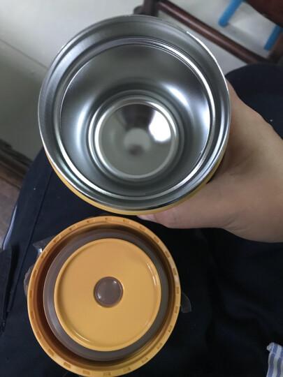 虎牌TIGER 梦重力 迷你不锈钢焖烧杯  男女学生食物罐 便携真空焖烧罐 MCL-B030-YS 300ml 黄色 晒单图