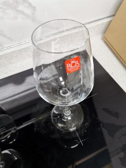 RCR 意大利进口水晶玻璃红酒杯葡萄酒杯意大利品牌醒酒器酒樽酒具大套装 红酒杯_550ml*6支(无赠品醒酒器) 晒单图