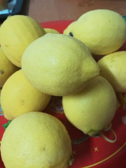 四川安岳黄柠檬8颗 一级大果 单果约100-120g 新鲜水果 晒单图