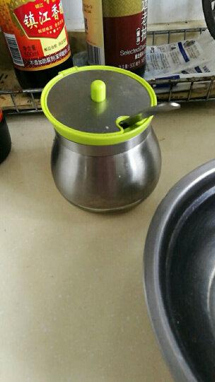 悠佳厨房用品创意欧式不锈钢调味罐三件套装油盐罐调料瓶作料盒 U-1333 晒单图