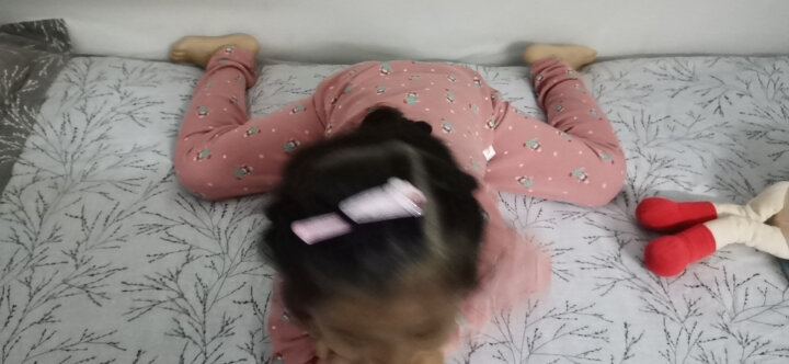 【9款可选】南极人儿童内衣套装男童女童秋衣秋裤两件套宝宝睡衣秋冬款 影蓝 120CM 晒单图