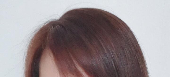萡素 蓝黑色染发剂膏植物天然纯无刺激盖白发不伤发黑色染膏头发颜色染发膏亚麻色闷青染发染头发膏剂 一盒 闷青色(网红色) 晒单图