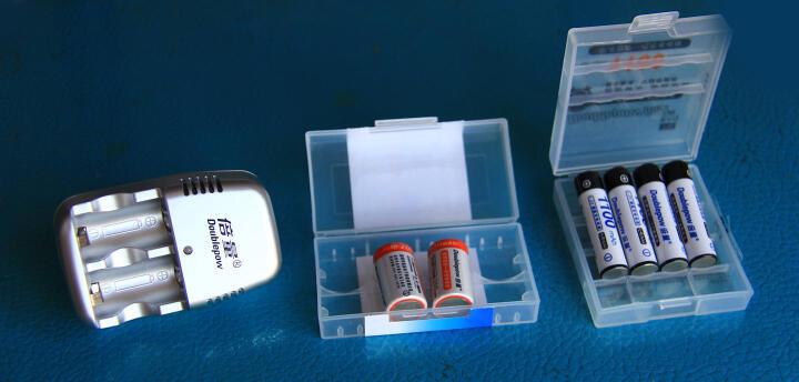 倍量 【包邮】 拍立得电池mini25 cr2 3V充电电池充电器套装 CR2锂电池 晒单图