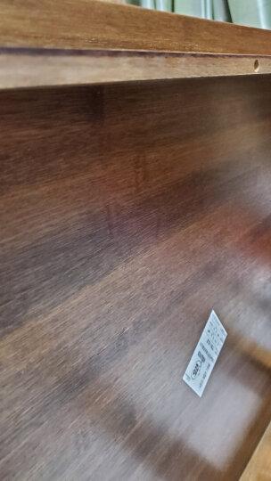 品生美 床上电脑桌懒人桌可折叠炕桌大号学生学习桌写字桌书桌楠竹飘窗餐桌 巨无霸 原竹色80*50cm(送脚套) 晒单图