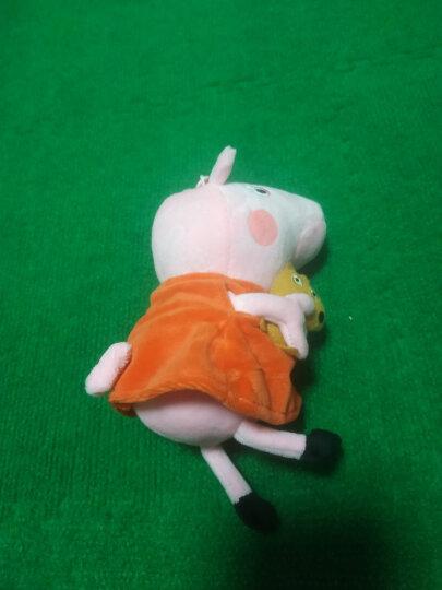 小猪佩奇毛绒玩具公仔 啥是佩奇 佩琪布娃娃儿童沙发抱枕宝宝安抚玩偶礼品圣诞节生日礼物送女友男友 大号一家四口礼盒+双肩背包+零钱包 晒单图