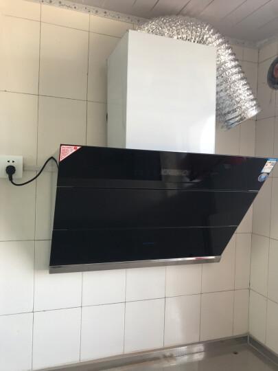 森太(SETIR) B560QG抽油烟机侧吸式脱排自动清洗吸油烟机大吸力家用抽烟机 二代体感 自动洗 晒单图
