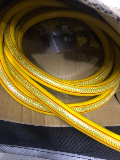一靓煤气管天然气管防爆带钢丝中高压热水器灶具软管 B款:五层加厚双层纤维325克 长度1.5米一根(送管卡两个) 晒单图